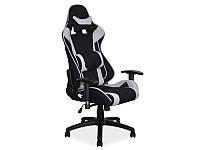 Офисное кресло с пластмассовым черным каркасом  Viper