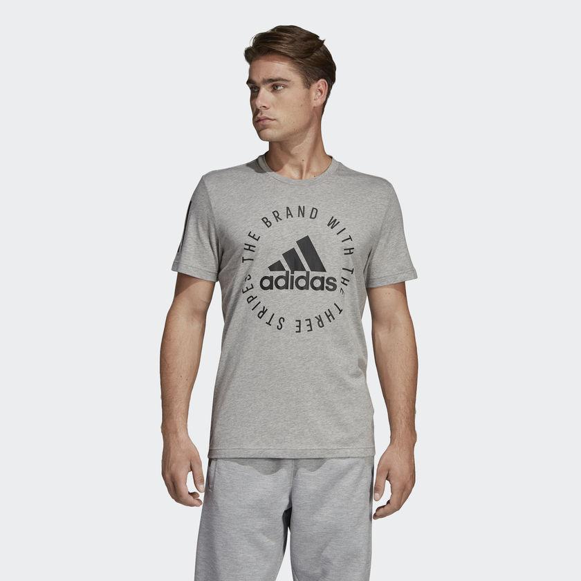 f13a3d57a417 Хлопковая футболка Adidas мужская SID Tee DT9913 - Интернет магазин Tip -  все типы товаров в