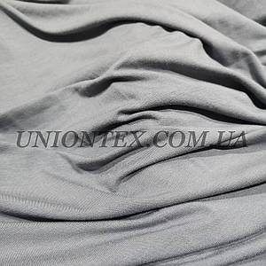 Вискоза трикотаж серый (180см)