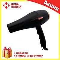 Фен для волос Gemei GM-1769 1800W, фото 1
