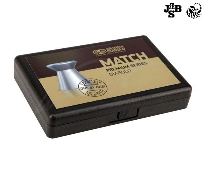 Пули пневматические JSB Match Premium MW 4.49мм 0.52г 200шт