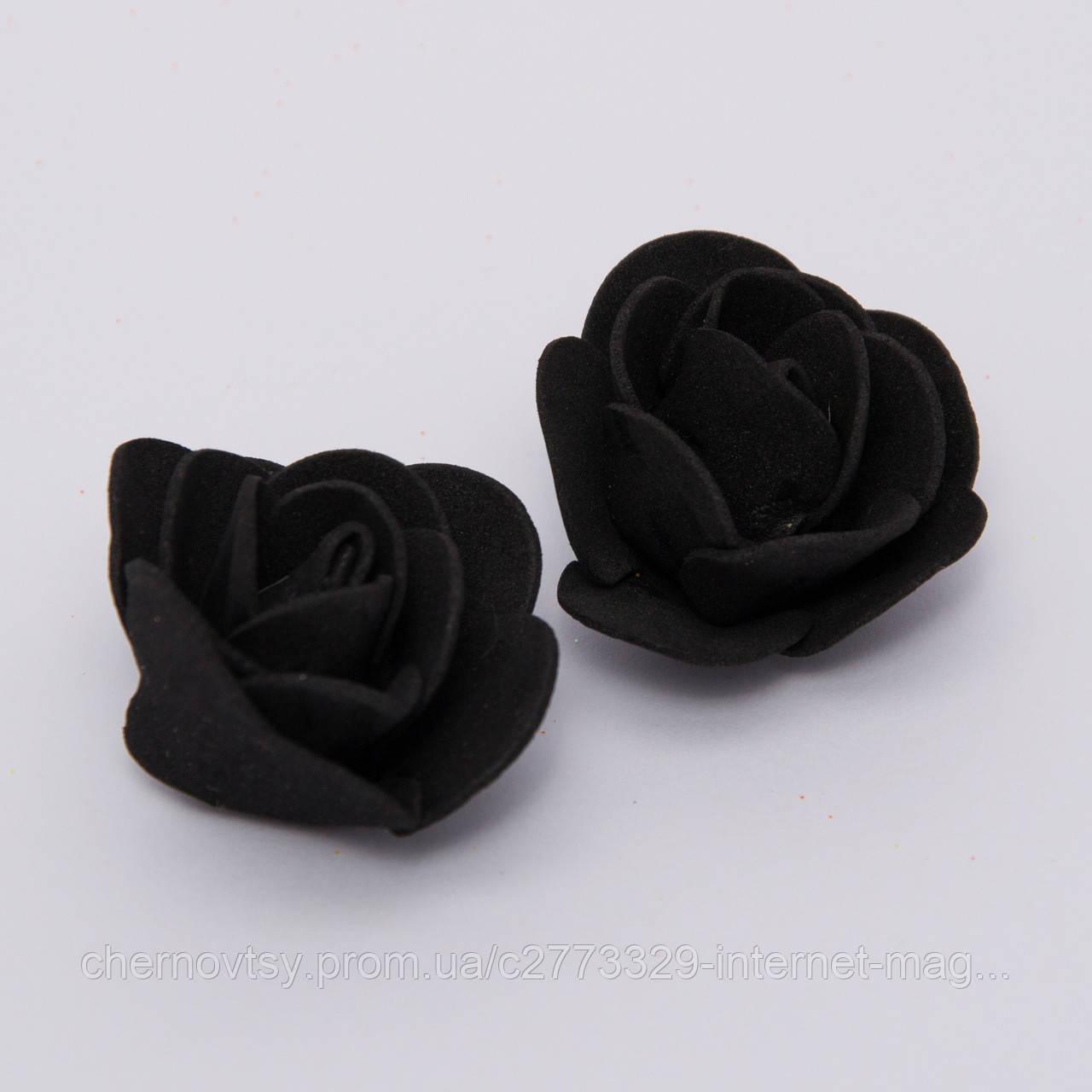 Голівки троянд з фоамірану 3.5 см, 500 шт.
