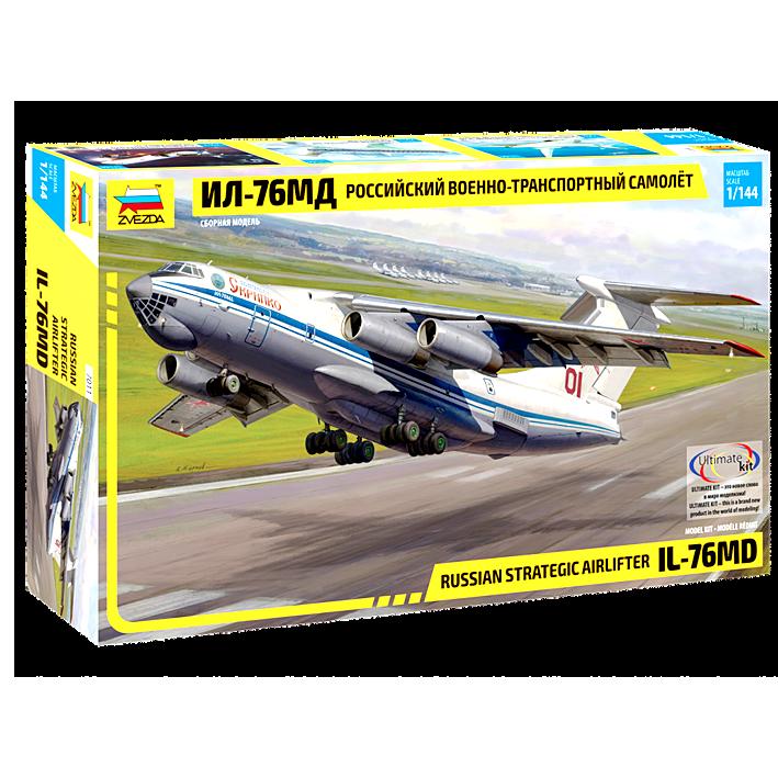 """Сборная модель Самолет """"ИЛ-76"""""""