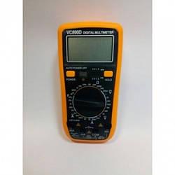 Цифровой Профессиональный мультиметр VC890D тестер вольтметр