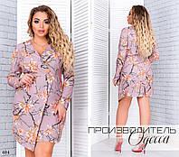 Платье имитация на запах вечернее версачи 48-50,52-54,56-58, фото 1