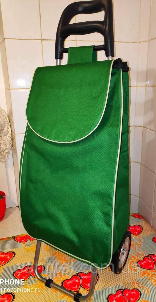 eab23c1f4eeb Хозяйственная тележка с сумкой и на желлезных колесах с подшипником