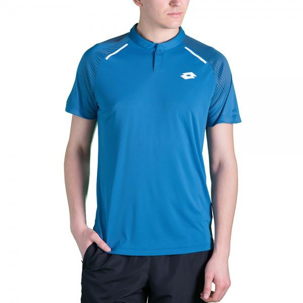3f2e62e6f0db Тенниска для тенниса мужская Lotto SUPERRAPIDA II POLO PL GEM BLUE  210575/1CK