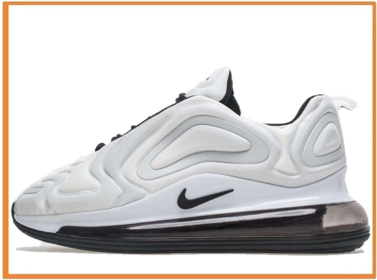 8946df7c Мужские кроссовки Nike Air Max 720 White Black (Найк Аир Макс 720, белые /