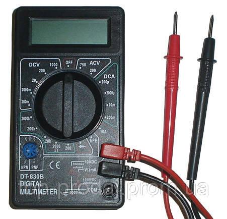 Мультиметр DT 830 B, Цифровой универсальный мультиметр, Цифровой тестер, Тестирование диодов, транзисторов