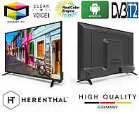 """Телевизор Herenthal led smart tv 43"""", фото 1"""