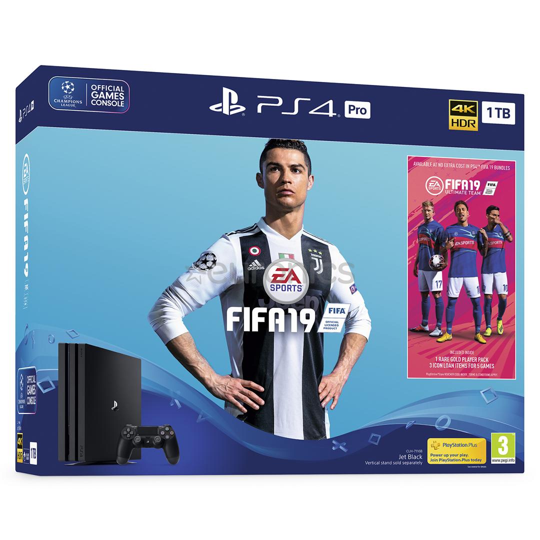 SONY PLAYSTATION 4 PRO + FIFA 19