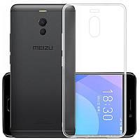 Прозрачный силиконовый чехол для Мeizu Note 6