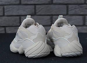 Женские и мужские кроссовки Adidas Yeezy Boost 500 Blush, фото 2