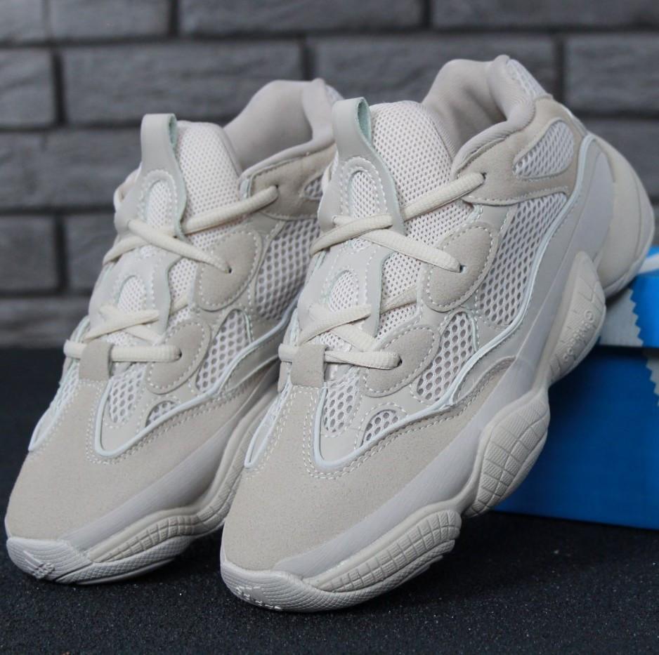 Женские и мужские кроссовки Adidas Yeezy Boost 500 Blush