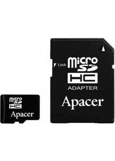 Карта памяти Apacer micro 32Gb (+адаптер SD) Class 10