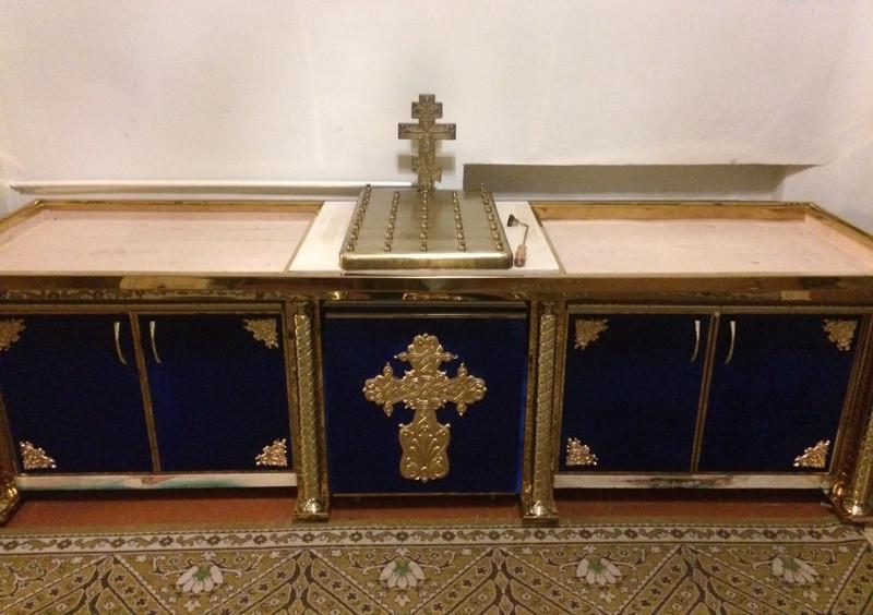 Декор из металла для столика 2.8х0,75м