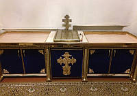 Декор из металла для столика 2.8х0,75м, фото 1