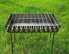 Мангал разборной на 12 шампуров