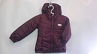 Курточка с капюшоном деми на рост 92-116 см, фото 1