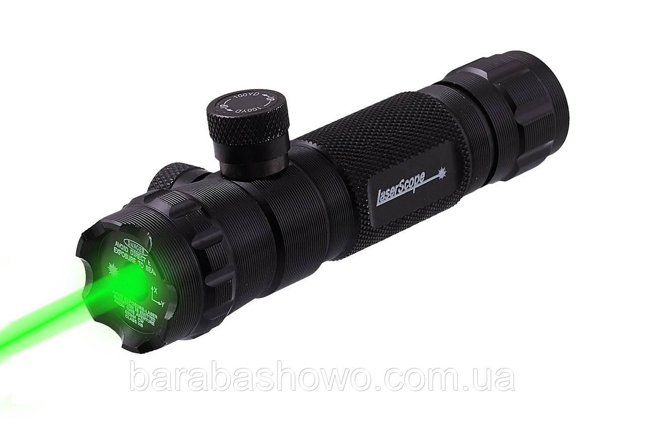 Лазерный целеуказатель ЛЦУ - JG9/G (зел луч)