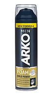 Піна для гоління ARKO Power Gold для жорсткої щетини (200мл.)