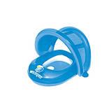 BW Плотик 34091(Blue) Синий с надувной защитой от солнца, 80-85 см, фото 2