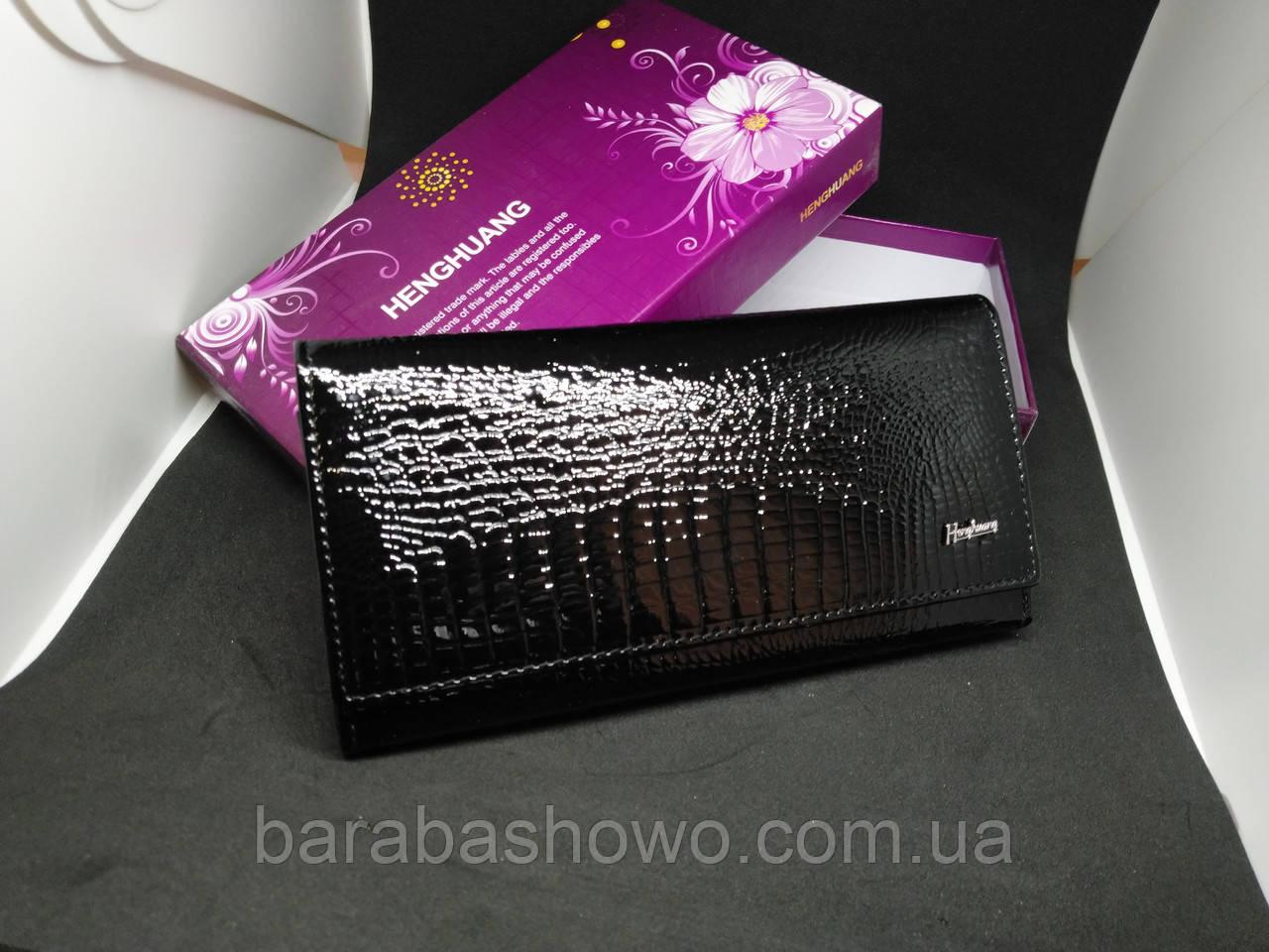Жіночий брендовий гаманець з натуральної шкіри HENGHUANG AE502