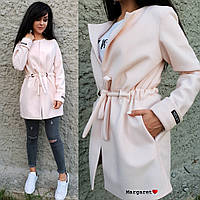 Женское кашемировое пальто кардиган в разных цветах