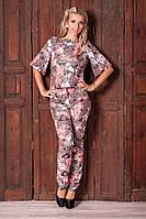 Элегантный вечерний женский костюм 2028 из жаккарда, фото 1