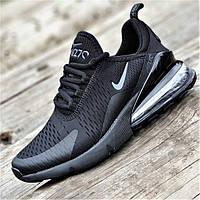 Мужские кроссовки сетка черные удобные, легкая подошва из пенки повседневные на лето весну (Код: Ш1356)