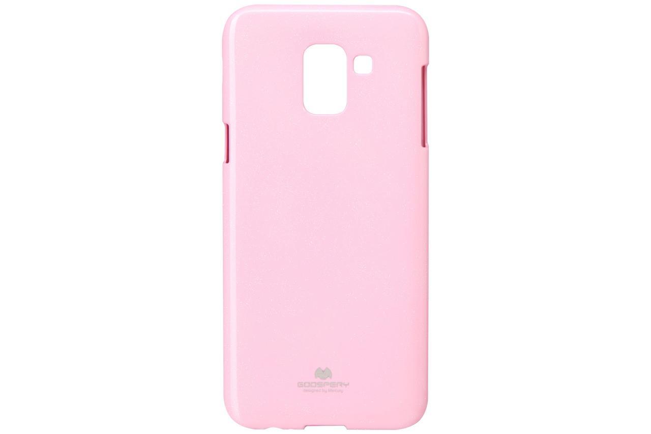 Чехол Goospery для Samsung Galaxy J6 (J600), Jelly Case, PINK