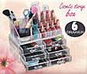 Акриловый органайзер для косметики Cosmetic Box 6 Drawer GW-812, 6 ящиков для косметики, фото 7