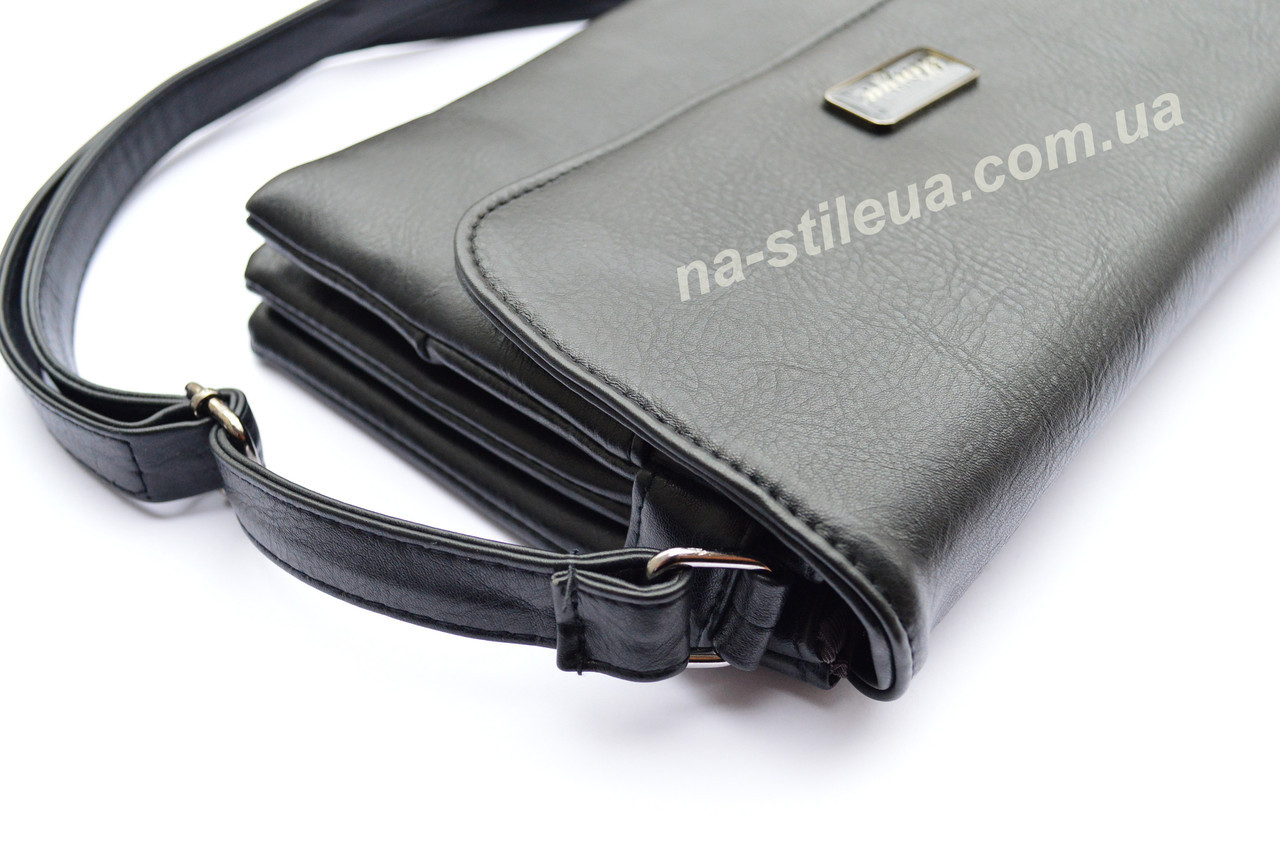 aa22bfa9d772 Женский кожаный клатч мини сумка кошелек шкіряна через плечо Мишель, ...
