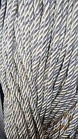 Декоративный шнур для натяжных потолков, ОЛИВА С СЕРЕБРОМ 10 мм (50м)