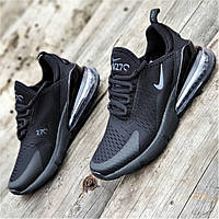 Мужские кроссовки сетка черные удобные, легкая подошва из пенки на лето весну (Код: Т1356а)