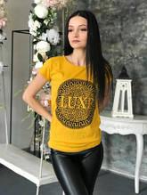 Футболка женская Luxe yellow размер L