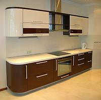 Кухня под заказ шпонированная, фото 1