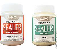 Лак универсальный суперпрочный финиш матовый Padico Sealer (Япония)(пробник 10мл),акриловый,на водн