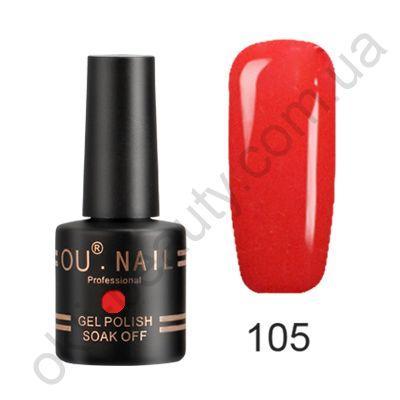 Гель-лак №105 Ou Nail, 8 мл