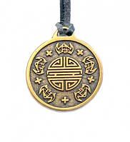 Символ пяти благословений: счастье, здоровье, добродетель, мир, долгая жизнь