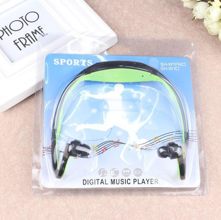 МР3 плеєр з вбудованими навушниками+USB кабель+упаковка