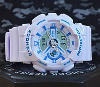 Спортивные часы Casio G-Shock GA 110 белые