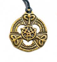 Кельтский Триксель символ равновесия стихий – знак, успокаивающий все бури, споры