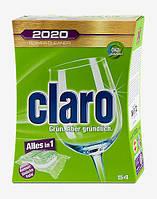 Claro 2020 Power Cleaner System Geschirrspül-Tabs - Бесфосфатные таблетки для посудомоечной машины 54 шт.