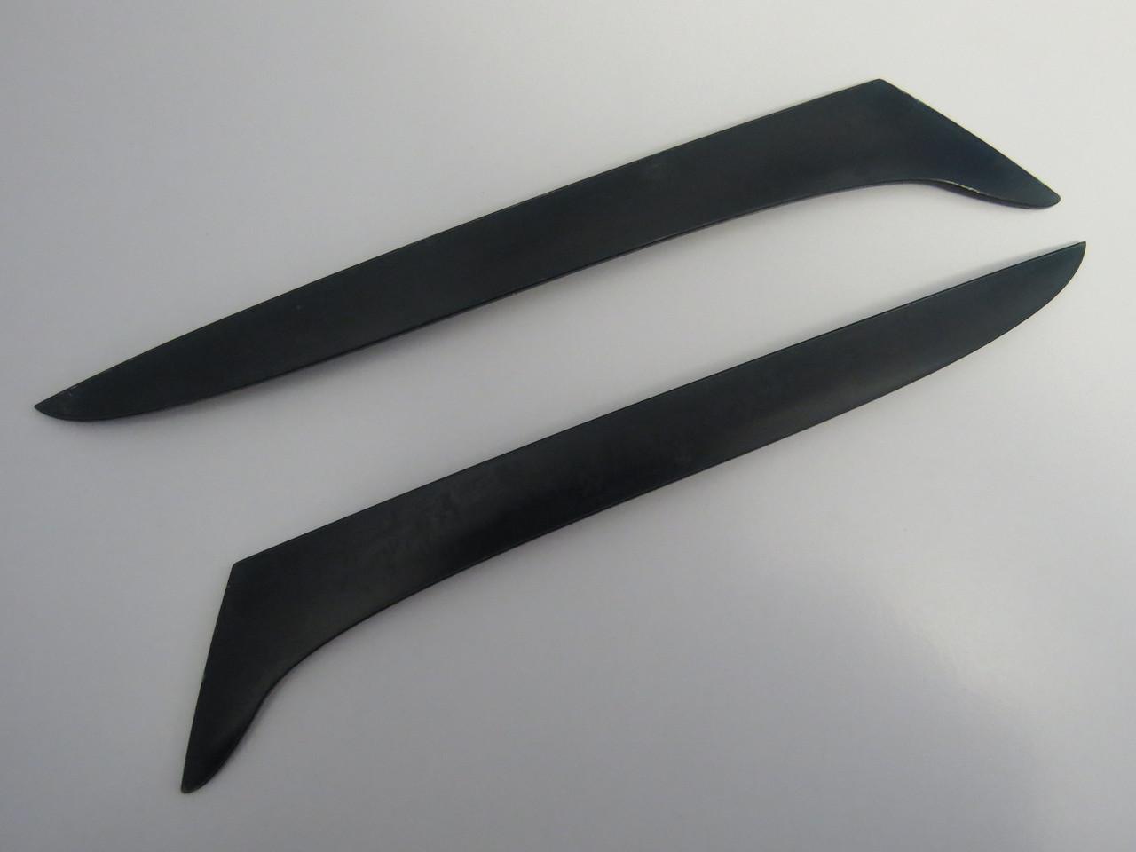 Ресницы Spirit Ниссан Альмера с 2006 тюнинговые накладки на автомобильные фары Nissan Almera Classic