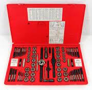 TDTDM500A Комбинированный набор резьбонарезного инструмента 76 предмет