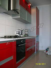 Кухня под заказ «Красный Ferrari»