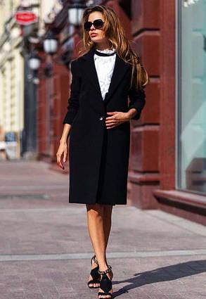 """Женское стильное пальто средней длины 245 """"Кашемир Классика"""" в расцветках"""