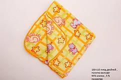 Плед детский (одеяло) 1х1м OBABY (100-115)