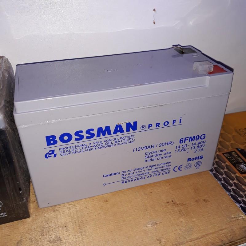 Аккумулятор Bossman Profi LA 1290 (12v/9Ah) 6FM9G белый 151 х 65 х 101